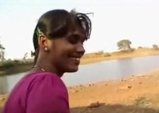 Desi indian deep throat firm open-air with boyfriend